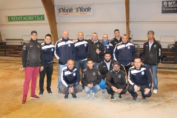 CRC et Coupe du Comité : les Thielois dominés