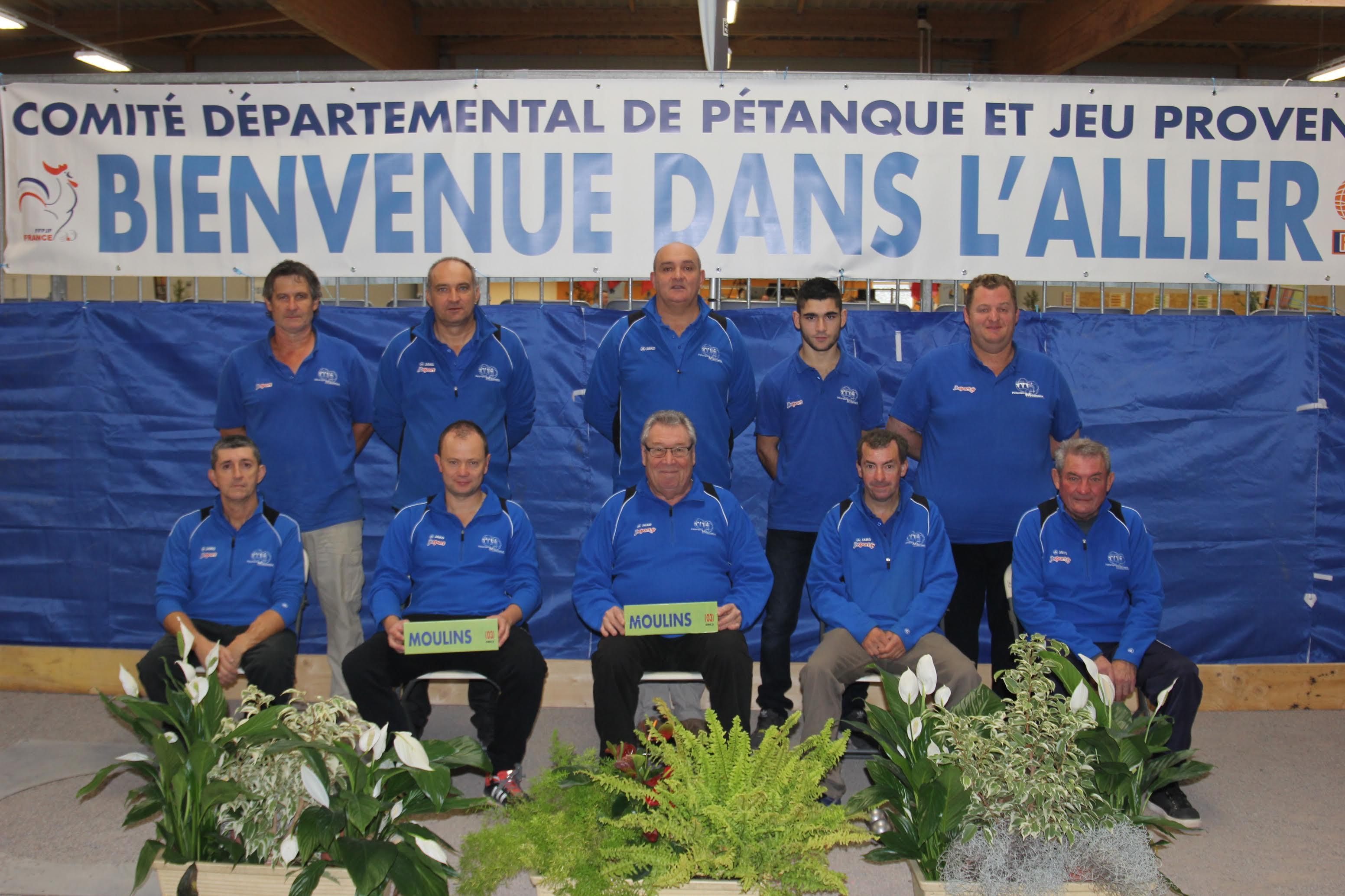 1er Trophée des Clubs du 1er mai : Moulins (CN2) pour la gagne