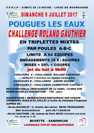 Challenge Roland Gauthier