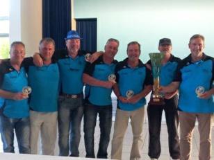 Trophée des copains à Villeneuve sur Allier par équipes de 7  en vétérans.