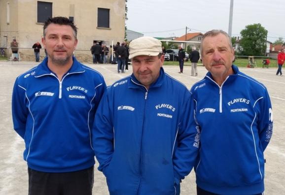 Les Player's doublement qualifiés pour le Championnat de Ligue triplette Jeu Provençal