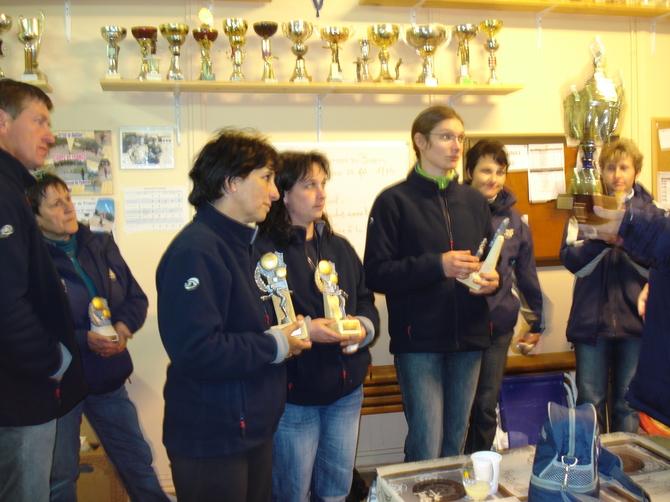 Championnat de Dordogne triplettes 2009.