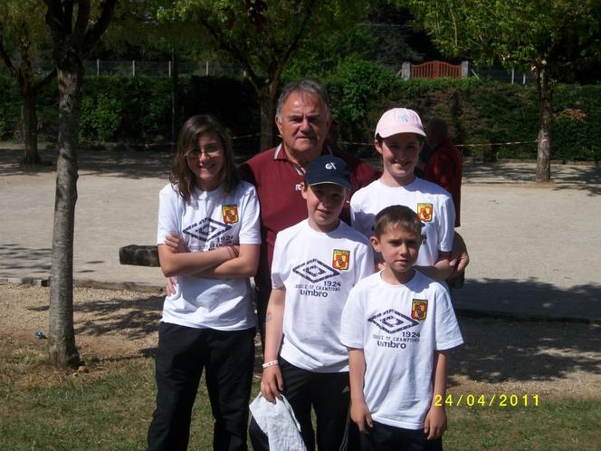 Championnat de Dordogne Jeunes.