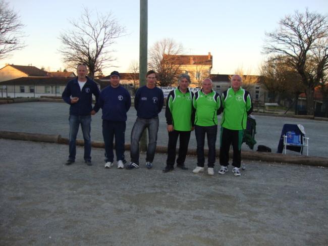 Championnat de Dordogne Triplettes Jeu Provençal 2014.
