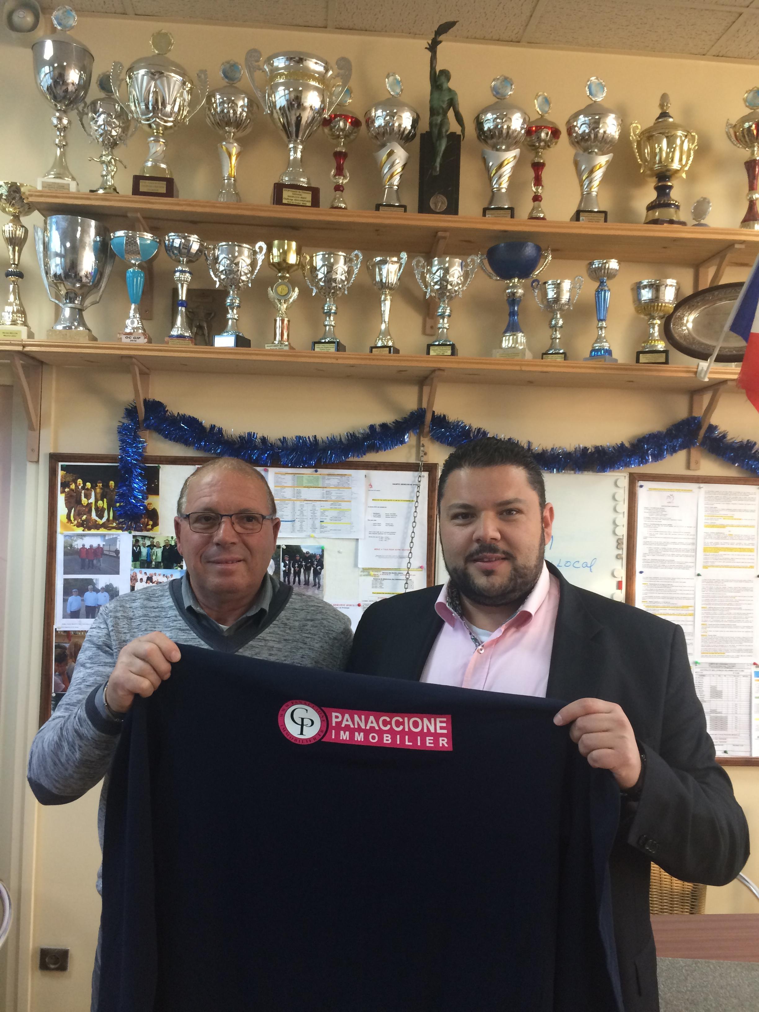Partenariat SGS Pétanque / Cabinet Immobilier PANACCIONE