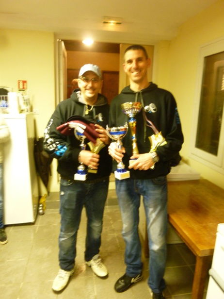 Anthony et David Champions 2015
