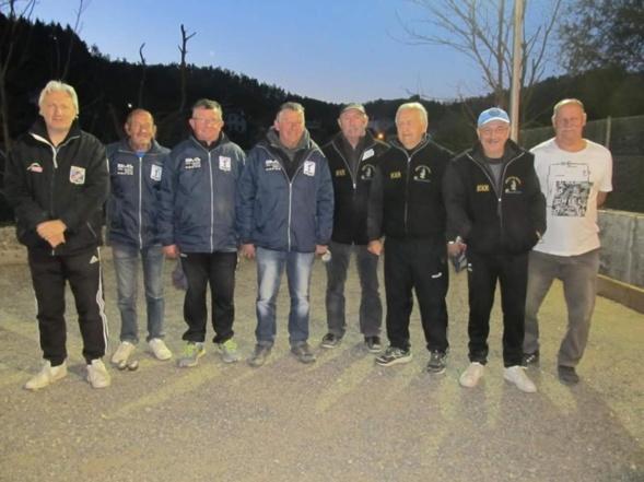Championnat  D'Auvergne  Triplettes  Vétérans