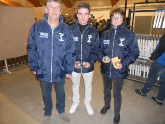 Triplettes  Mixtes  de  Cournon  D'Auvergne