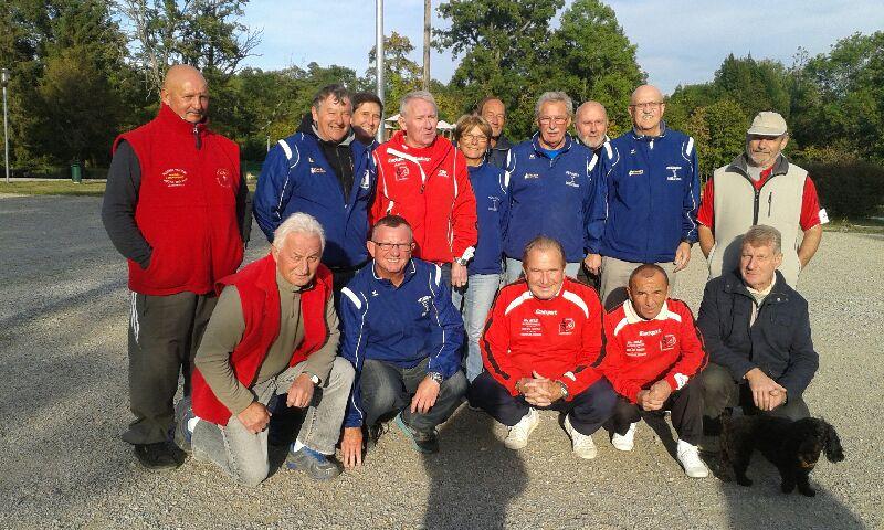 Championnat  Vétérans  à  Bourbon