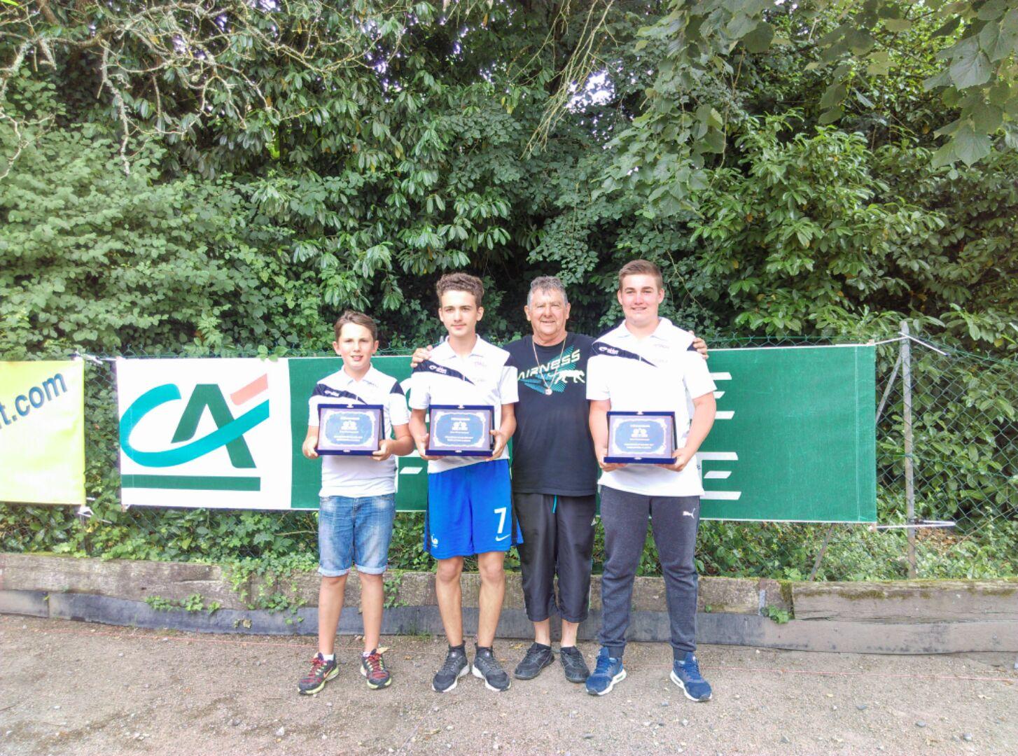 Championnat  Jeunes  à   Tronget