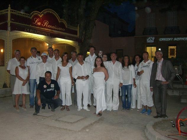 Séminaire Pétanque de l'office de tourisme de St Tropez.