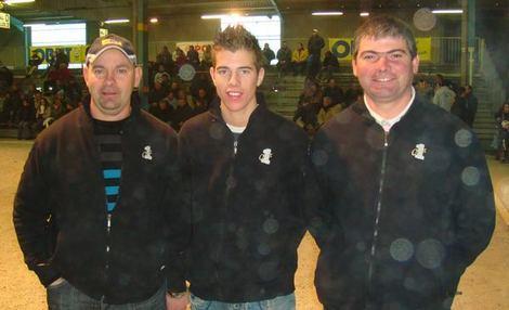 Championnat de France triplette à NICE