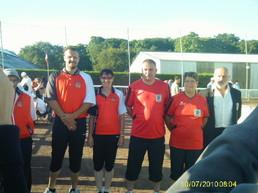 Championnat de France doublette mixte à Flamanville (50)