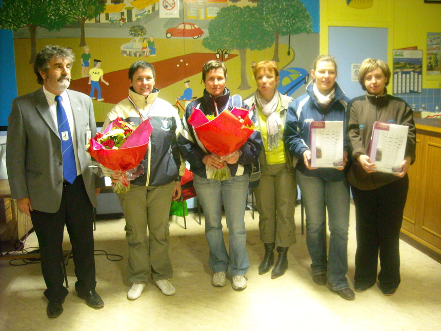 un délégué,Sophie Gelée Sylvia Crogiez , Marie Ange et les finaliste