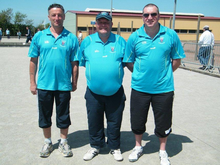 vice champion de ligue triplette provençale avec pilou et Reynald