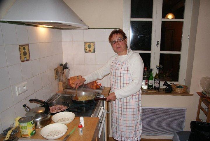 Marie excellente cuisinière