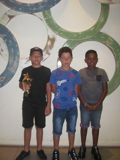 De gauche à droite: Louis Lucas, Emerick Vienne et Matthieu Caro