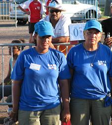 Figuin Solange et Ricquebourg Nathalie  championnes doublettes 2009