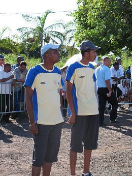 Jean Marie Pavot et Norman Bhoyro champions doublettes 2009