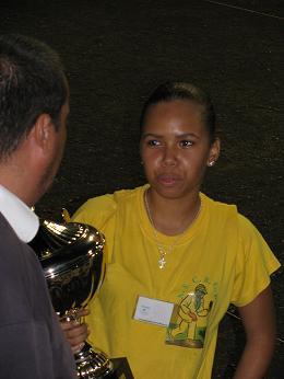 Anaïs Ibao championne tête à tête dame 2009