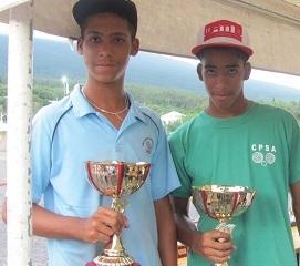 Enryck Begnis (CPCC) et Pierre Nicolas Malinessouchetty (CPSA) champions juniors 2013
