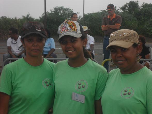 Sonia Ibao/Nathalie Hoareau/Romy Ibao (ASCRCP) championnes 2012