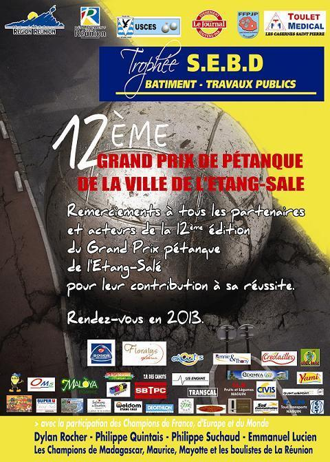 12EME GRAND PRIX DE LA VILLE DE L'ETANG-SALE