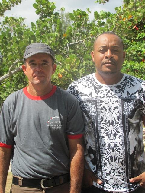 Yannick Hoarau et Johan Hériès les vainqueurs du district sud doublettes 2015