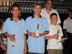 CHAMPIONNATS TRIPLETTES MIXTES SENIORS ET TRIPLETTES JEUNES 2010