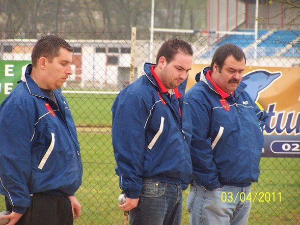 Deuxième journée du championnat des clubs troisième division à St Florent.