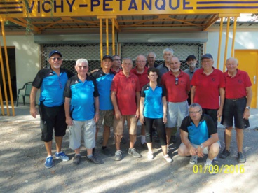 RESULTATS DU CHAMPIONNAT  DES CLUB VETERANS 4EME DIVISION POULE D