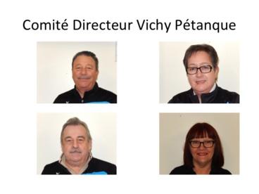 MEMBRES DU COMITE DIRECTEUR DE VICHY PETANQUE 2017