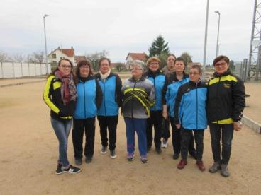 RESULTATS CHAMPIONNAT DES CLUBS FEMININ