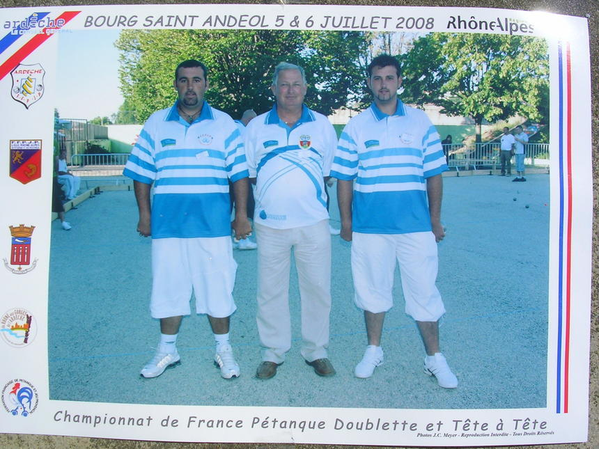 championnat 2008