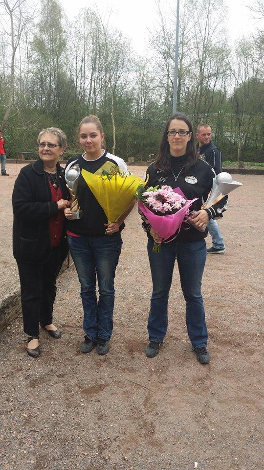 Championnat Tete a tete feminin