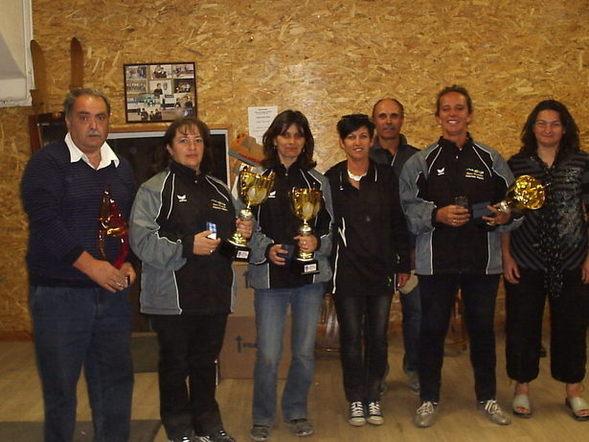 Championnat départemental Triplette Femme : Greco , Trigo et Lacroix Vainqueurs 2011