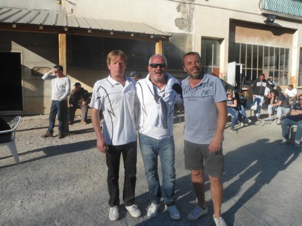 Jean Marc Chiapponi et Alain Rolland Champions
