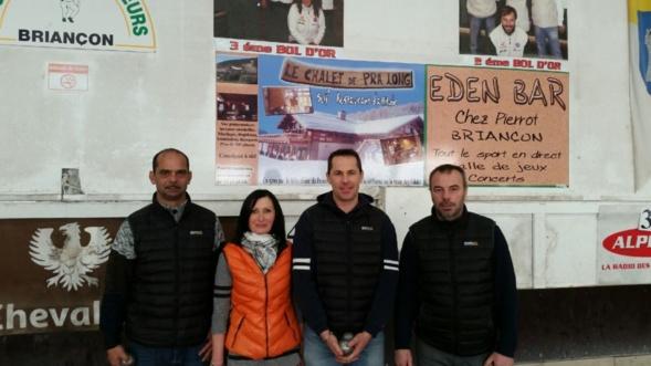Jean louis Lacroix , Brigitte Augier , Medhy Panier et Pierre Roman
