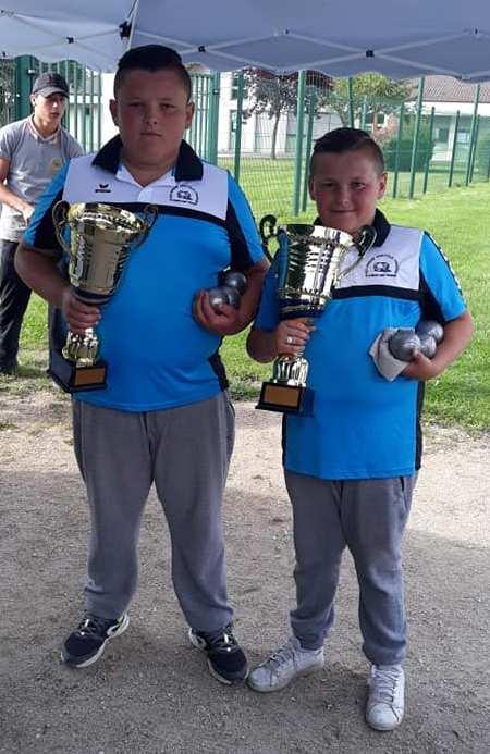 Championnat de  Ligue  Doublettes Jeunes