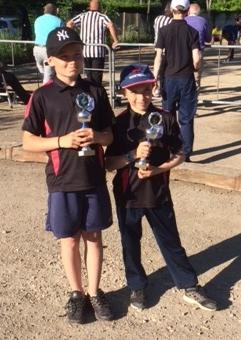Championnat départemental triplette jeune
