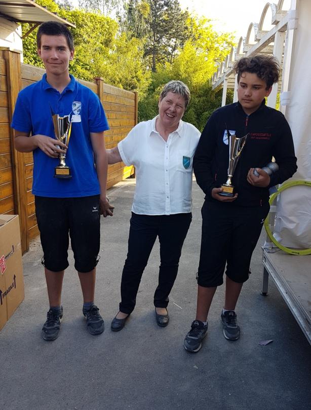 Championnat régional doublette jeunes