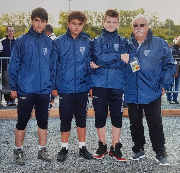 Championnat de France triplette jeune