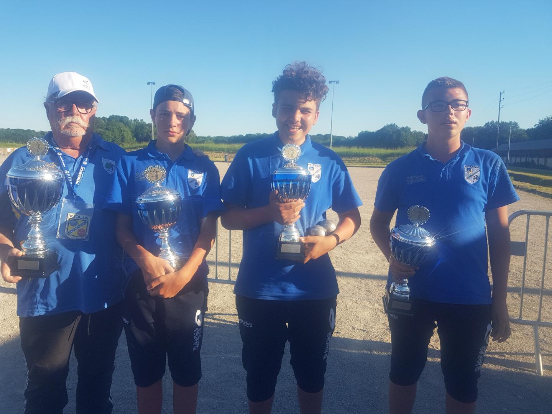 Championnat régional triplette jeune