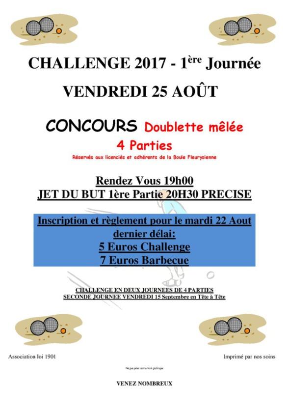 affiche challenge