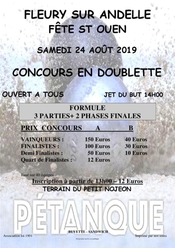 Concours 24 aout