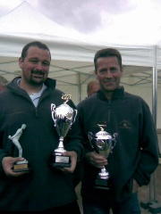 Christophe et David vice champion de l'eure doublette 2007