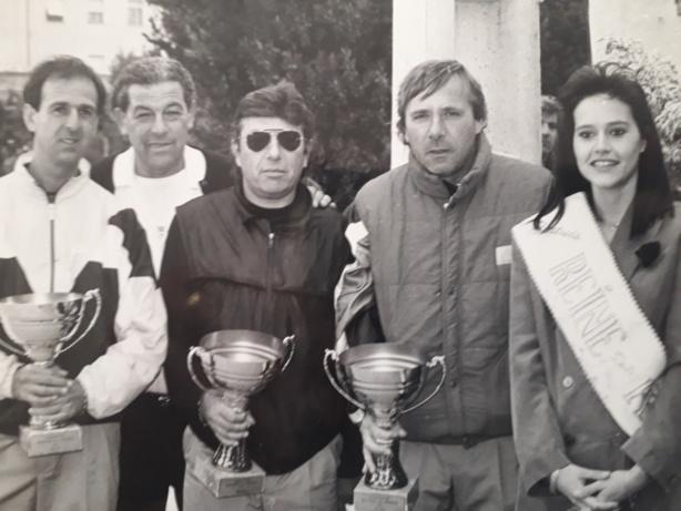 Autour de Robert, Alain Cortès, Ange Pacini, et André Massoni pour leur deuxième victoire aux Masters de Pertuis