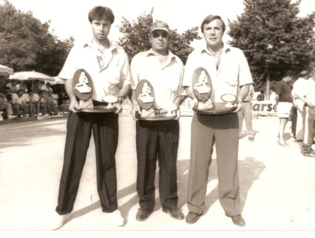 Vainqueur à Saint André avec Thierry Terreno et André Massoni