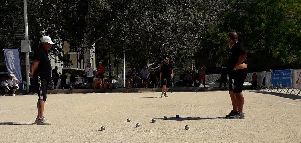 Sébastien Lécole au tir en demi-finale
