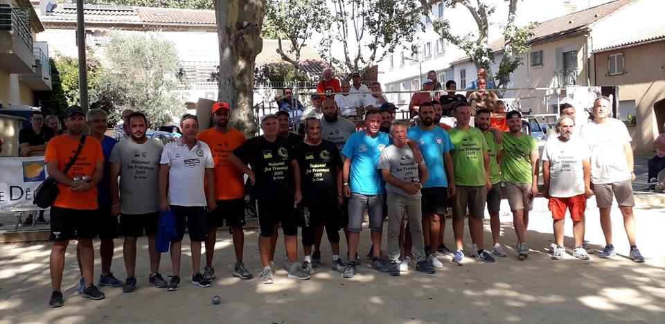 3e National de la ville de La Crau / Var-Matin RESULTAT